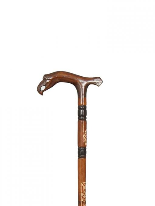 eagle-head-walking-stick