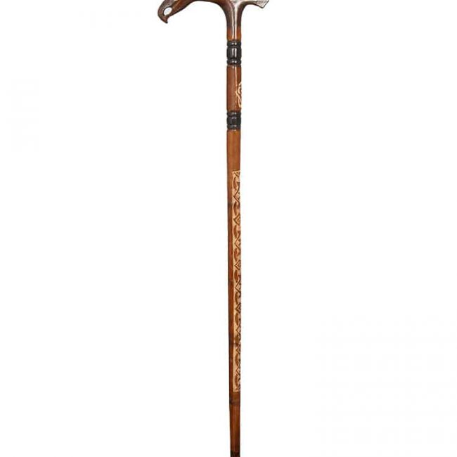 Eagle Head Walking Stick cool1 650x650 - Eagle Head Walking Stick
