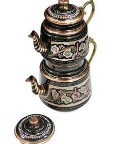 Hand Painted Turkish Copper Teapot 247x296 - Hand Painted Turkish Copper Teapot