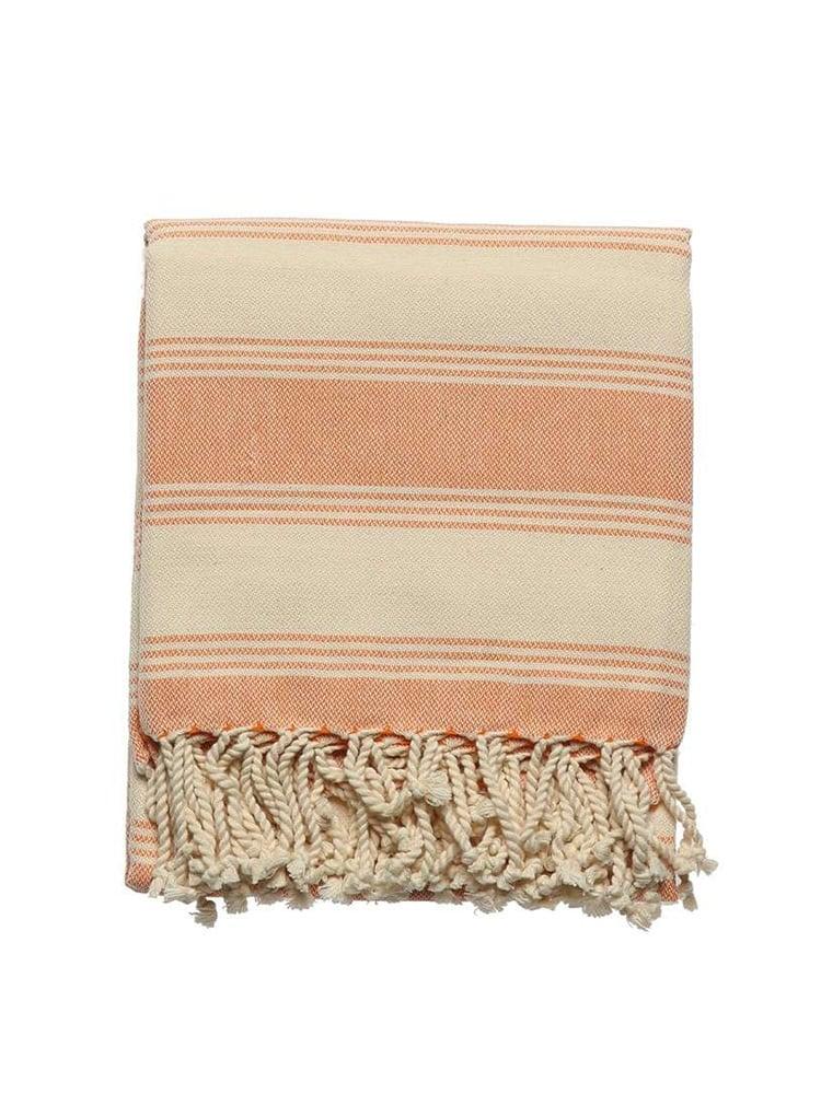 Hand Weaving Set Orange 1 - Hand Weaving Pestemal Set