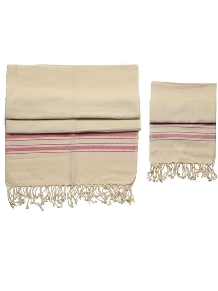 Hand Weaving Set Red 3 - Hand Weaving Pestemal Set