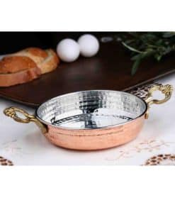 copper items like copper saucepans