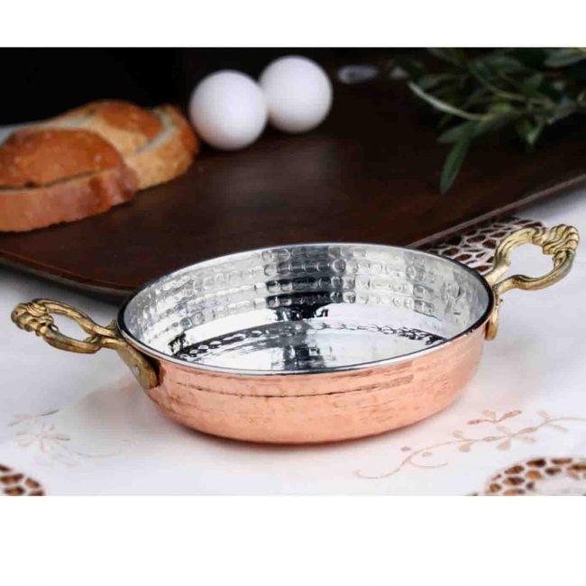 copper items like copper saucepans