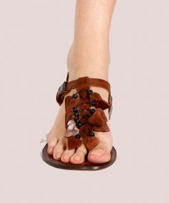 Hearts Leather Sandals 2 247x296 - Hearts Leather Sandals