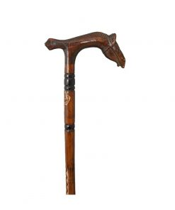 horse-head-walking-stick