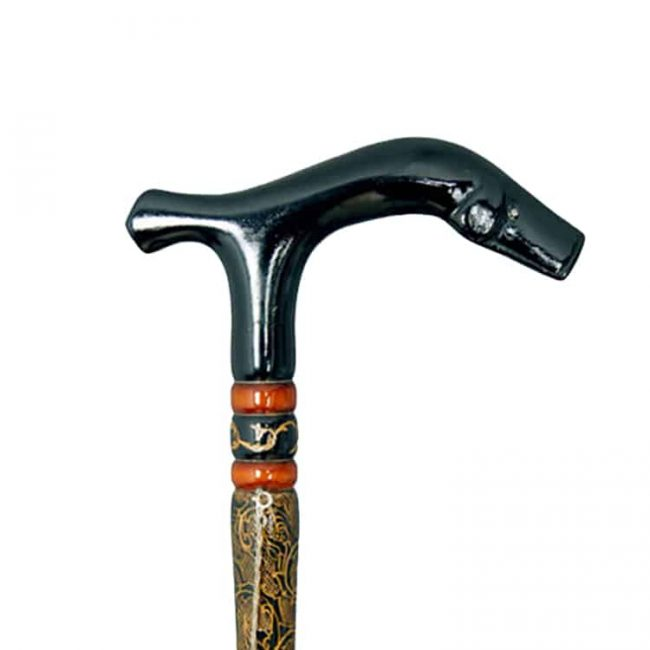 Womens Fritz Style Twisted Walking Cane