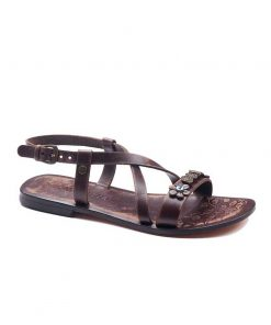 Metallic Detail Sandals bodrum sandals evaterm sag 136 1907 247x296 - Metallic Detail Sandals