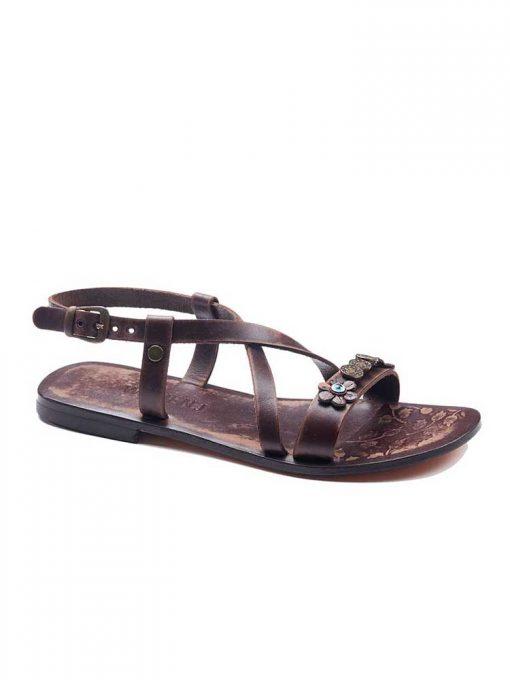 Metallic Detail Sandals bodrum sandals evaterm sag 136 1907 510x680 - Metallic Detail Sandals