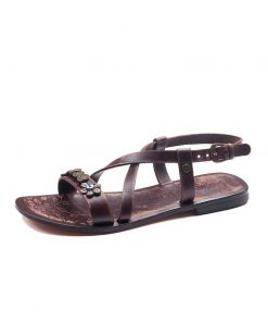 Metallic Detail Sandals bodrum sandals evaterm sol 136 1907 247x296 - Metallic Detail Sandals