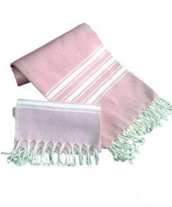 Peshtemal Peshkir Set Pink 3 247x296 - Peshtemal Peshkir Set