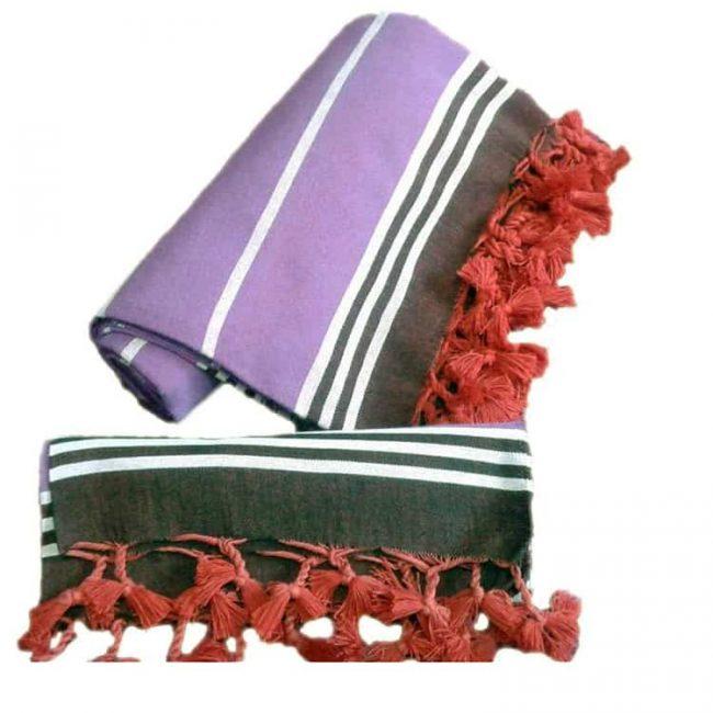 Peshtemal Peshkir Set Special Edition Purple 1 650x650 - Home