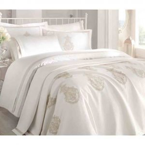 Pure Azur Sateen Bedding Set – Kopya