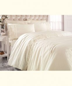 pure beige loren bedding set