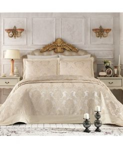 Pure Royal Beige Bedspread Set2 247x296 - Pure Royal Beige Bedspread Set