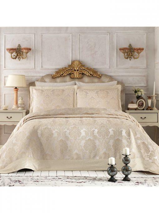 Pure Royal Beige Bedspread Set2 510x680 - Pure Royal Beige Bedspread Set
