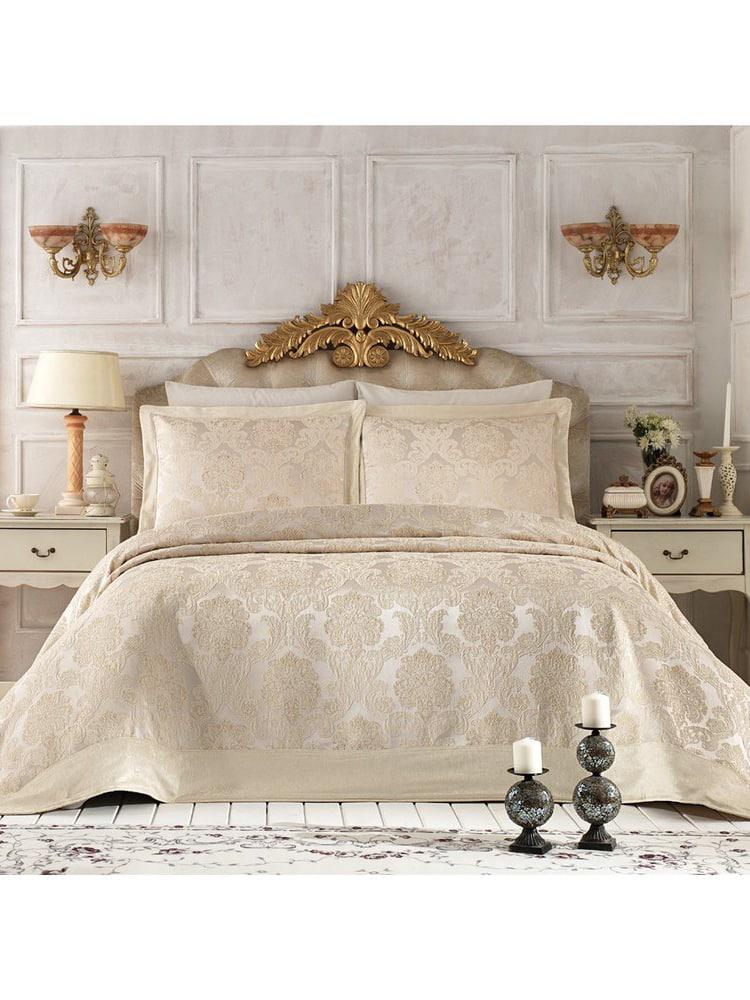 Pure Royal Beige Bedspread Set2 - Pure Royal Beige Bedspread Set