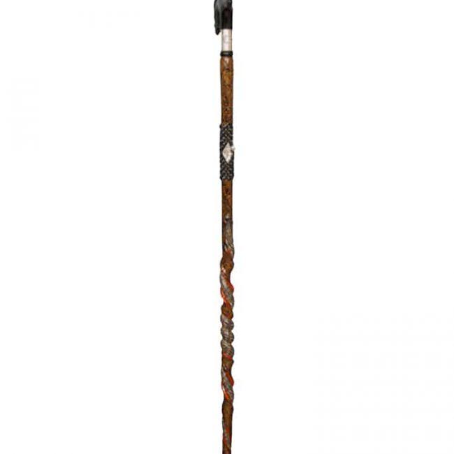 Silver Luxury Walking Stick cool3 650x650 - Horse Head Silver Collar Cane