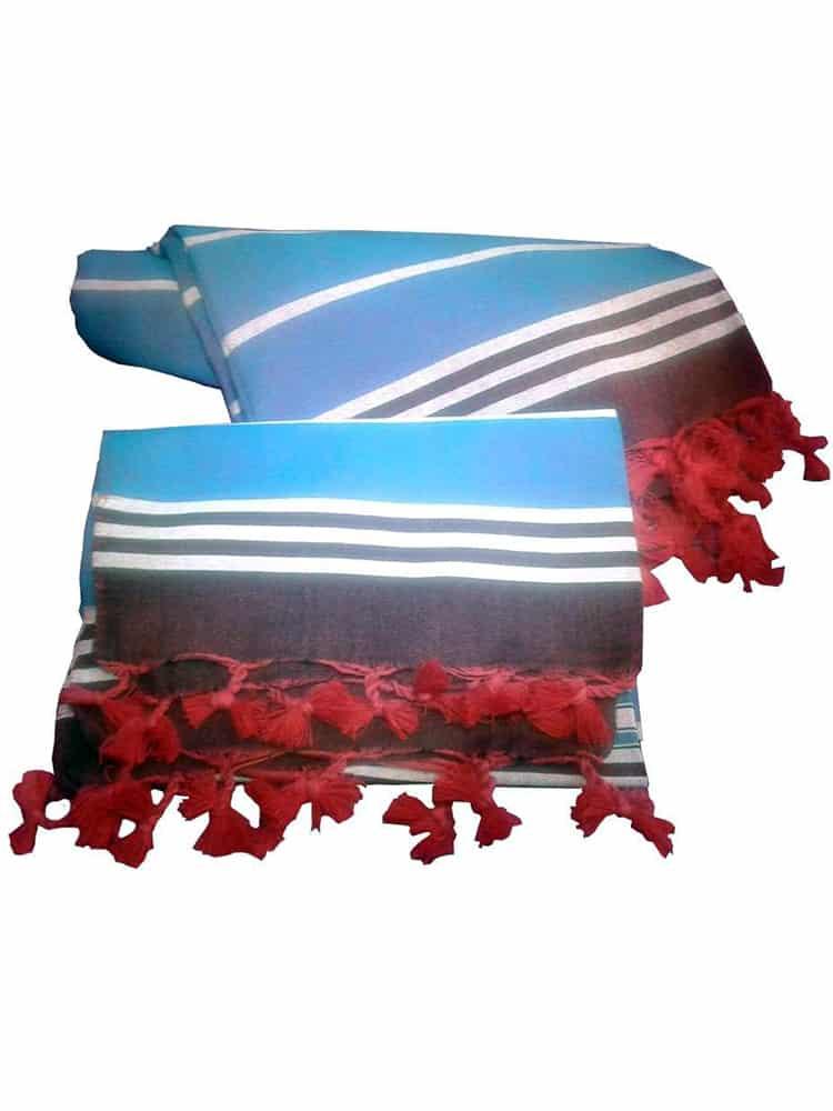 Special Edition Peshtemal Peshkir Set Blue 2 - Peshtemal Peshkir Set Special Edition