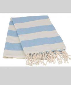 Striped Blue Peshtemal 247x296 - Striped Peshtemal