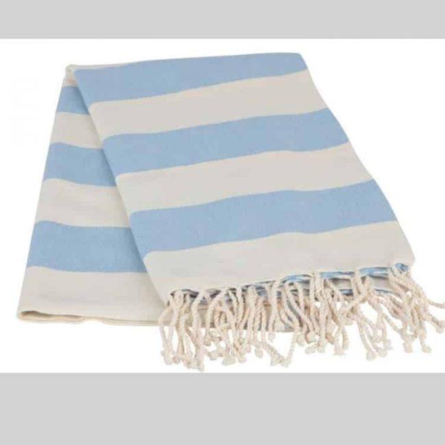 Striped Blue Peshtemal 650x650 - Striped Peshtemal