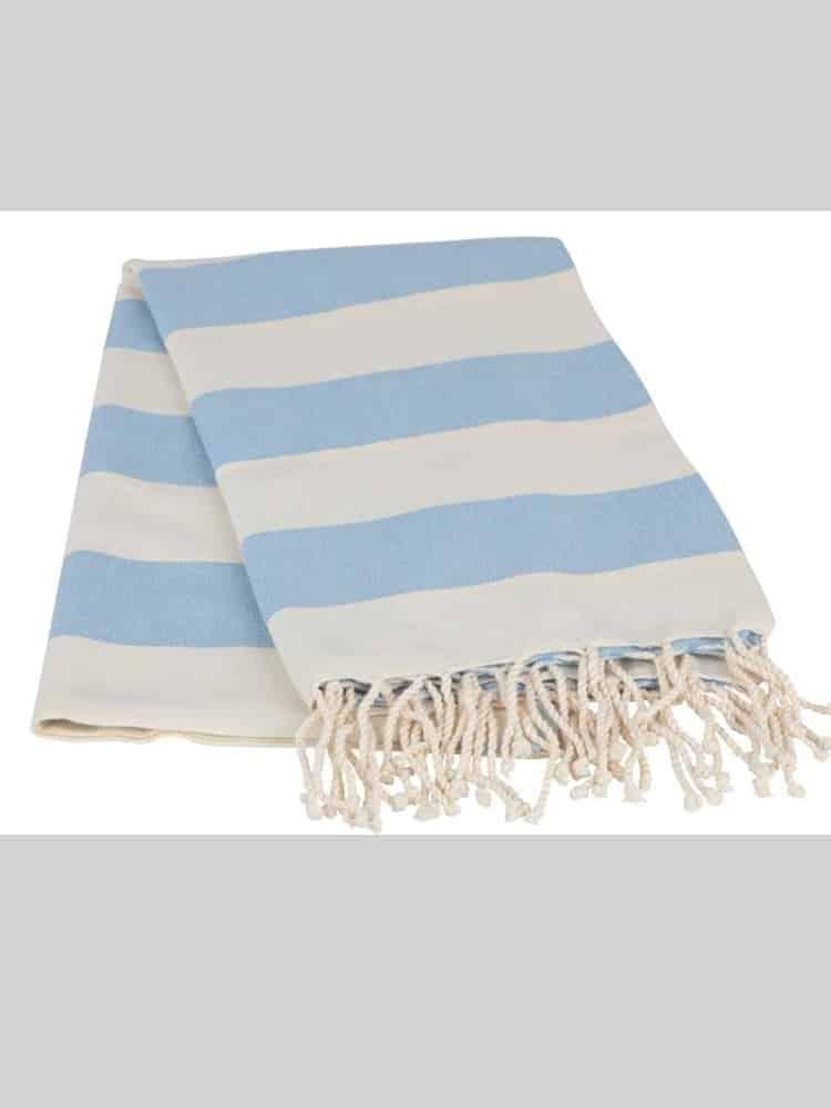 Striped Blue Peshtemal - Striped Peshtemal