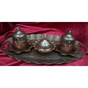 Turkish Coffee Copper Espresso Set