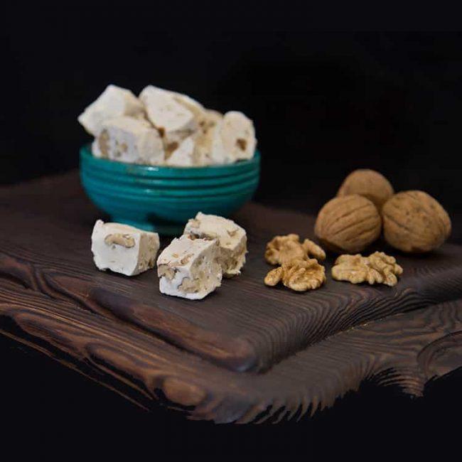 Turkish Halwa With Walnut 1 650x650 - Turkish Halwa With Walnut