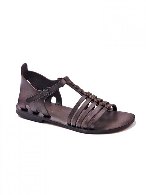 basic leather brown sandals 1 510x680 - Basic Leather Brown Sandals