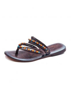 beaded-leather-flip-flops