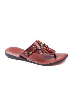 beaded up leather flip flops women 1 247x296 - Beaded Up Leather Flip Flops