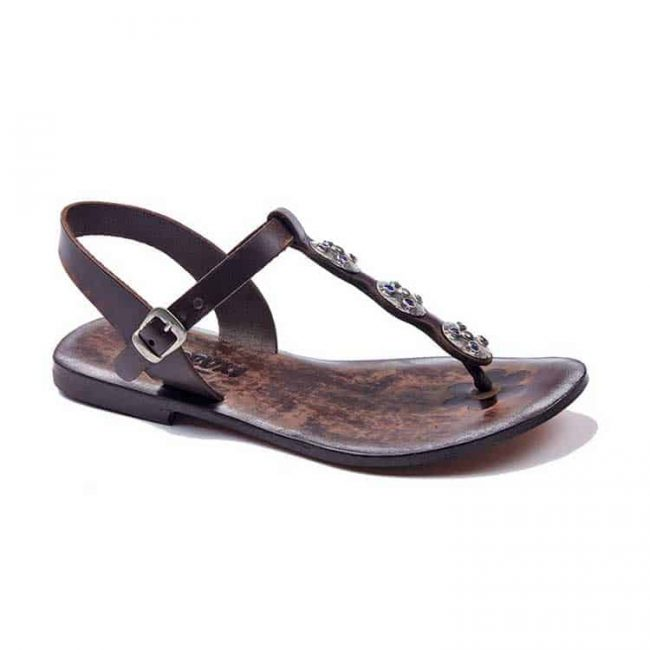 bodrum sandals evaterm sag 627 2049 650x650 - Beaded Tugra Leather Sandals