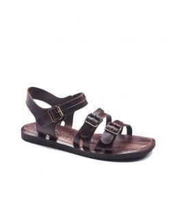 bodrum sandals men evaterm sag 1941 247x296 - Basic Brown Leather Sandals For Men