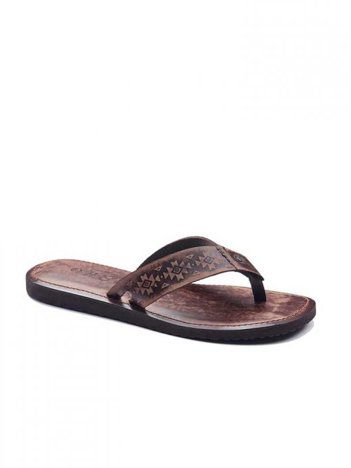 casual toe thong leather 2 510x680 - Casual Toe Thong Leather Flip Flops For Men