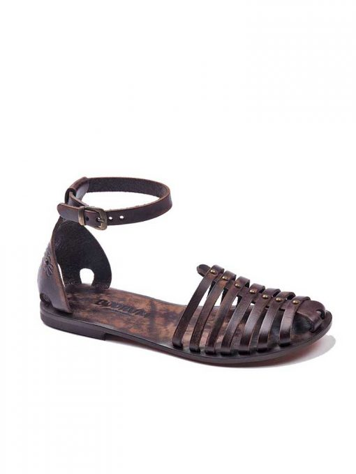 classic brown leather sandals women 1 510x680 - Classic Brown Leather Sandals