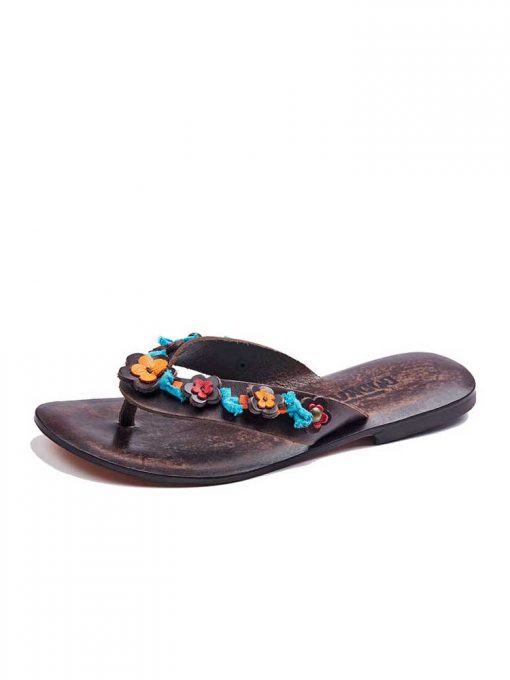 colorful-leather-flip-flops