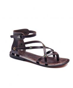 double cross strapped sandals women 1 247x296 - Double Cross Strapped Sandals