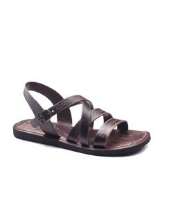 embossed leather sandals for men 2 247x296 - Embossed Leather Sandals For Men