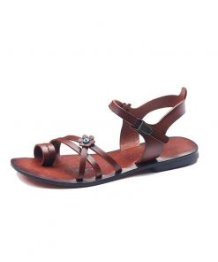 evil eye leather sandals 5 247x296 - Evil Eye Leather Sandals