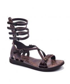 gladiator sandals evaterm sag 2007 247x296 - Three Strapped Gladiator Sandals