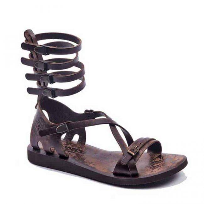 gladiator sandals evaterm sag 2007 650x650 - Three Strapped Gladiator Sandals