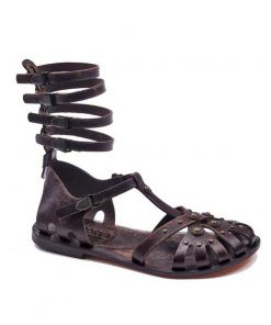 gladiator sandals evaterm sag 2009 247x296 - Metallic And Strapped Gladiator Sandals