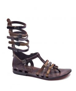 gladiator sandals evaterm sag 2014 247x296 - Colored Strapped Gladiator Sandals