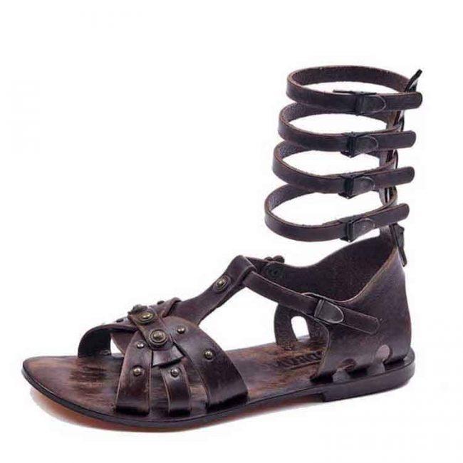 men's handmade leather bodrum sandals