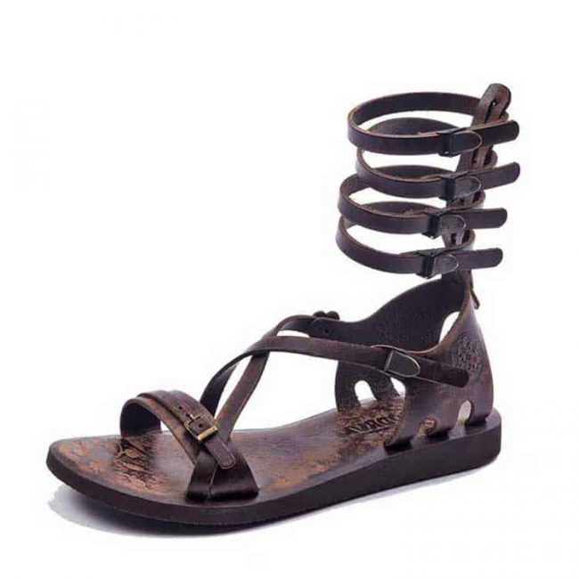 handmade leather sandals online
