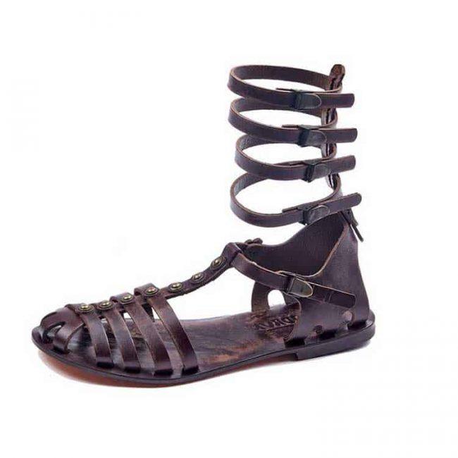 handmade leather women sandals online shop