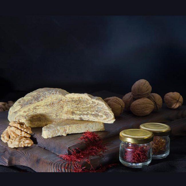 halwa with saffron walnut flavor 1 650x650 - Halwa With Saffron Walnut Flavor
