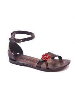 rose leather sandals women 1 247x296 - Rose Leather Sandals