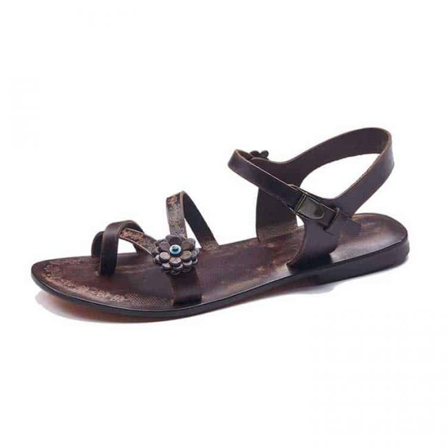 Buy leather strappy sandals