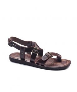 toe thong buckle leather sandals for men 2 247x296 - Toe Thong Buckle Leather Sandals For Men