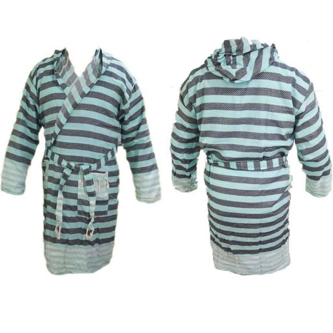 terry cloth robe with hood womens mens